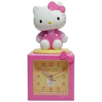 【Hello Kitty】搖擺公仔超靜音貪睡鬧鐘 (JM-E500KT)