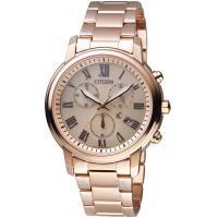 CITIZEN 星辰 xC系列 典雅風範亞洲限定計時腕錶 FB1432-55X