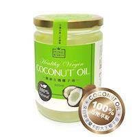 悅‧生活 御品能量-100%冷壓初榨生機椰子油500ml x1瓶