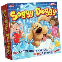 【 美國 IDEAL 經典桌遊】甩水狗狗 Soggy Doggy