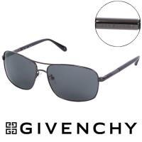GIVENCHY 法國魅力紀梵希都會玩酷飛行員復古太陽眼鏡(鐵灰) - GISGV4110568