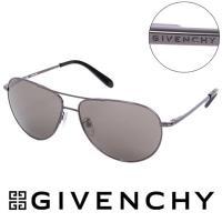 GIVENCHY 法國魅力紀梵希都會玩酷飛行員復古金屬太陽眼鏡 - GISGV4100568