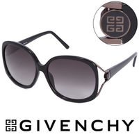 GIVENCHY 法國魅力紀梵希經典LOGO都會時尚太陽眼鏡(黑) - GISGV7620700