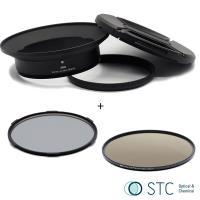 STC Screw-in Lens Adapter 超廣角鏡頭 濾鏡接環組 CPL+ND64 105mm For Panasonic 7-14mm
