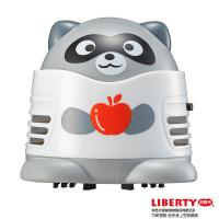 【LIBERTY利百代】可愛狸貓-迷你桌上型吸塵器(送GP3號電池2入)