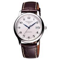 LONGINES Master 巨擘系列機械腕錶 銀x咖啡 40mm L27934783