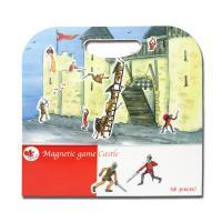 【BabyTiger虎兒寶】比利時 Egmont Toys 艾格蒙繪本風遊戲磁貼書 - 守護快樂城堡
