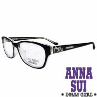 Anna Sui安娜蘇日本Dolly Girl系列可愛少女愛心款造型太陽眼鏡‧黑【DG528-016】