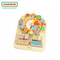 [Masterkidz]時鐘天氣學習玩具/多功能時鐘學習板