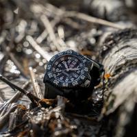 LUMINOX 雷明時海豹部隊經典腕錶-黑x白時標/44mm A3051