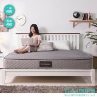 【日本直人木業】AIR床墊AP12 / 5 尺雙人床墊 (3M防潑水透氣表布 /高回彈袋裝獨立筒/ 高密度回彈支撐泡棉)
