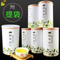 龍源茶品 阿里山花香韻美烏龍茶葉6罐組(150g/罐)