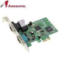 Awesome PCIe 2埠RS-422/485 I/O卡-AWD-8352ER2-485