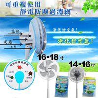 風扇靜電防塵過濾網/專利製造/台灣製造/金德恩