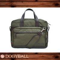 Dogyball  都會包款Carry U城市移動 簡約時尚特務級手提包款 墨綠色