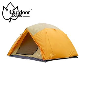 【Outdoorbase】桔野六人露營帳篷-21218