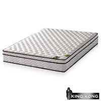 【金鋼床墊】三線20mm乳膠舒柔加強護背型3.0硬式彈簧床墊-雙人加大6尺