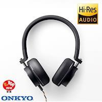 ONKYO H500M Hi-Res耳罩式耳機-黑色