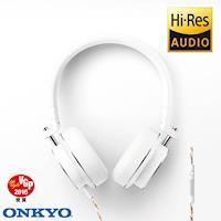 ONKYO H500M Hi-Res耳罩式耳機-白色