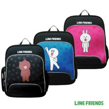 【LINE FRIENDS】EVA護脊書包(熊大/兔兔/饅頭人3款 LI-5401)