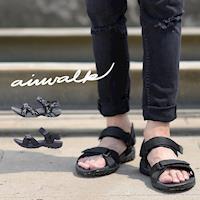 AIRWALK- 小野人 越野戶外輕量防滑涼鞋-(共兩色)