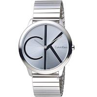 Calvin Klein ck  minimal 大 ck 簡約時尚腕錶 K3M211Z6