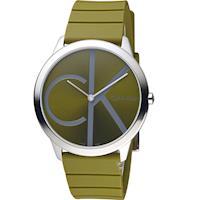 Calvin Klein minimal 大 ck 經典元素時尚腕錶  K3M211WL