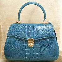 IKON 品牌限量珍藏鱷魚手提包