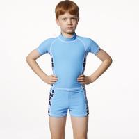 【SARBIS】MIT泡湯SPA兒童二件式水母衣泳裝附泳帽B66501