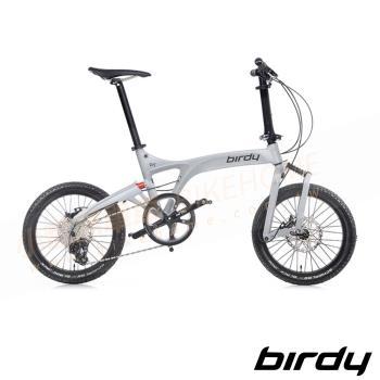 New Birdy(Ⅲ) GT多地形越野10速前後避震鋁合金折疊單車-消光軍規綠