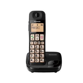 Panasonic國際牌 DECT數位無線大字鍵電話KX-TGE110TW
