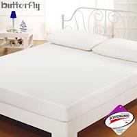 BUTTERFLY - SGS認證防水全包覆式保潔墊-白 雙人特大180x210x30cm 台灣製造