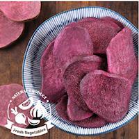 愛上新鮮-天然紫薯脆片*8包