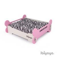 IBIYAYA依比呀呀 寵物傢俱系列-寵物骨頭床-L-粉米(FF1206)