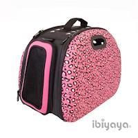 IBIYAYA依比呀呀 非洲大地寵物提包-粉紅豹(FC1206)