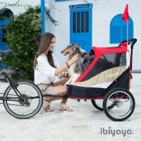 【IBIYAYA依比呀呀】二代兩用寵物推/拖車-藍(FS980)