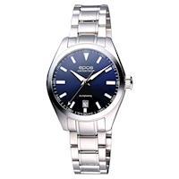 epos 經典光輝時尚機械女錶 都會藍 31.4mm 4411.131.20.16.30