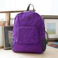 【COUNT DUCK】美系悠活輕量輕巧收納後背包-CD-028-紫色