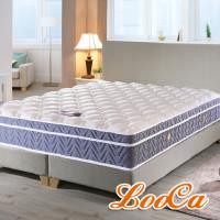 LooCa 國際護背型三線天絲獨立筒床墊-加大