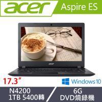 Acer宏碁 Aspire ES 經典文書筆電 ES1-732-P15K 17.3吋/N4200/6G/1T