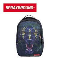 【SPRAYGROUND】DLX 系列 Tribal Leopard 部落黑豹潮流筆電後背包