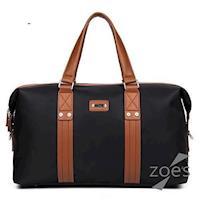 【Zoes】頂級防潑水牛津布 潮流設計旅行包