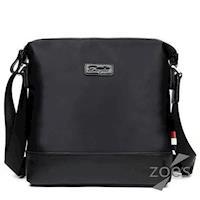 【Zoes】頂級防潑水牛津布 潮流設計斜背包