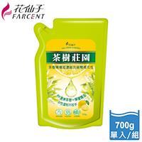 任-【花仙子】茶樹莊園-茶樹檸檬超濃縮700g洗碗精補充包1入