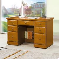 Bernice-堤雅4.2尺實木辦公桌/書桌