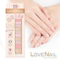 【LOVE NAIL】持久指甲油貼-水鑽珠寶盒系列(極致光珠寶盒)