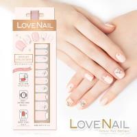 【LOVE NAIL】持久指甲油貼-水鑽珠寶盒系列(女伶璀鑽毛呢)