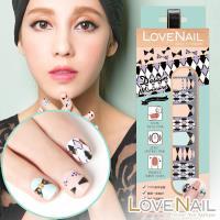 【LOVE NAIL】持久指甲油貼-造型系列(浪漫紀念日) 指甲貼