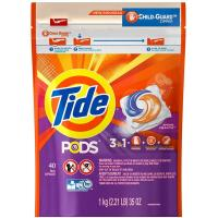 Tide汰漬 美國新一代洗衣凝膠球1000g(40顆x3)
