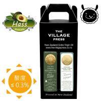 壽滿趣 頂級冷壓初榨黃金酪梨油+義式香蒜風味橄欖油禮盒(250ml/2瓶)